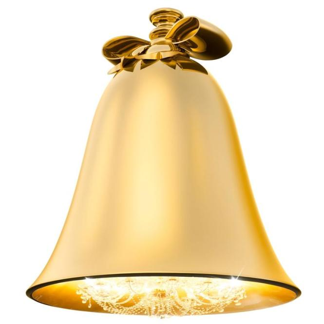 Baby Bell Chandelier Gold 1