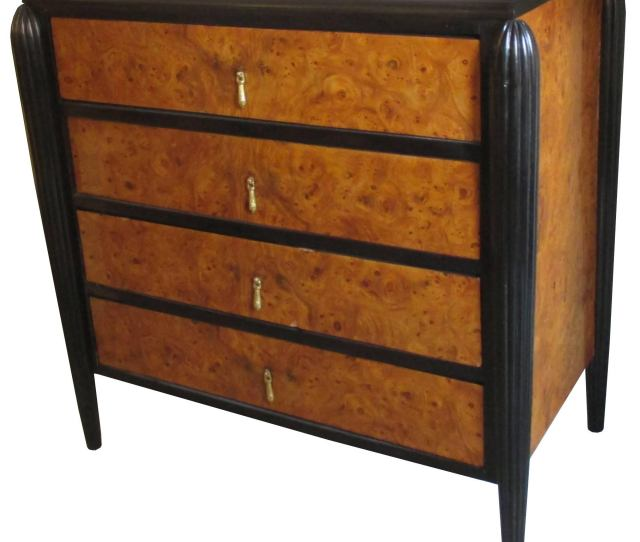 Art Deco Small Chest Of Drawers For Sale
