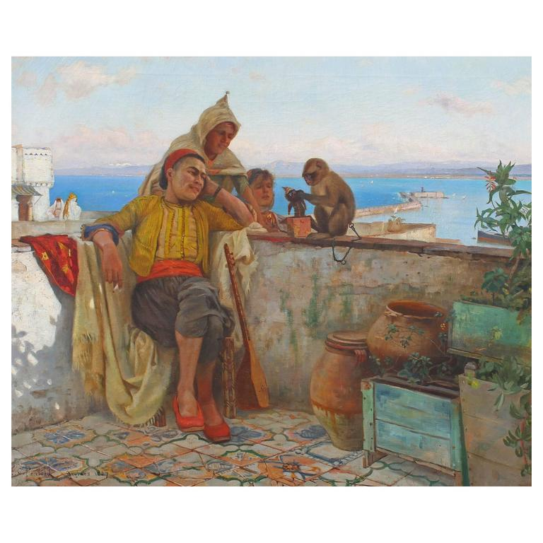 Orientalist Oil Painting For Sale At 1stdibs