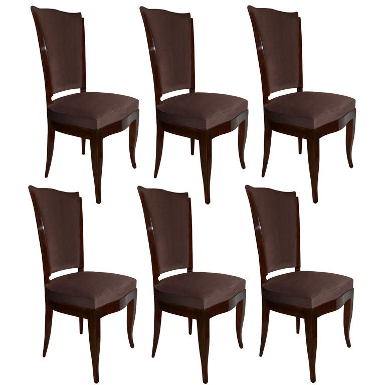 Set Of 6 Gothic Revival French Dining Chairs At 1stdibs