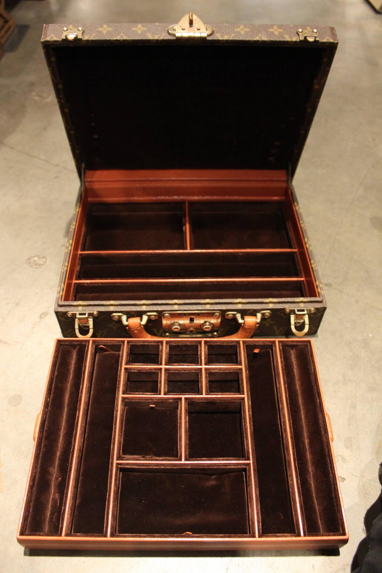 Rare Louis Vuitton Jewelry Box At 1stdibs