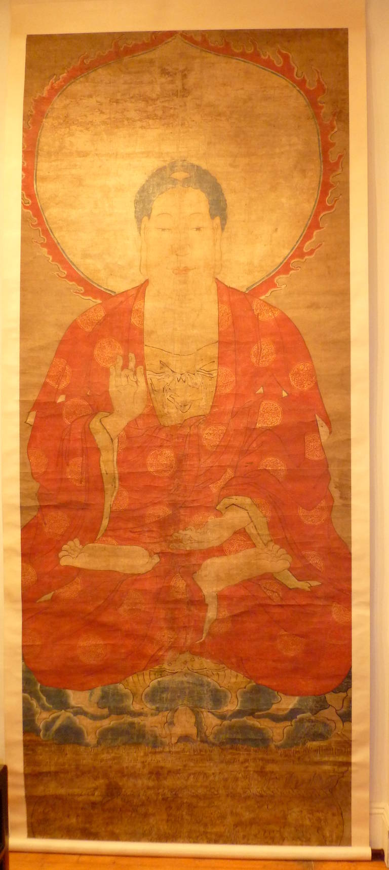Bamboo Antique Paintings Scroll Asian