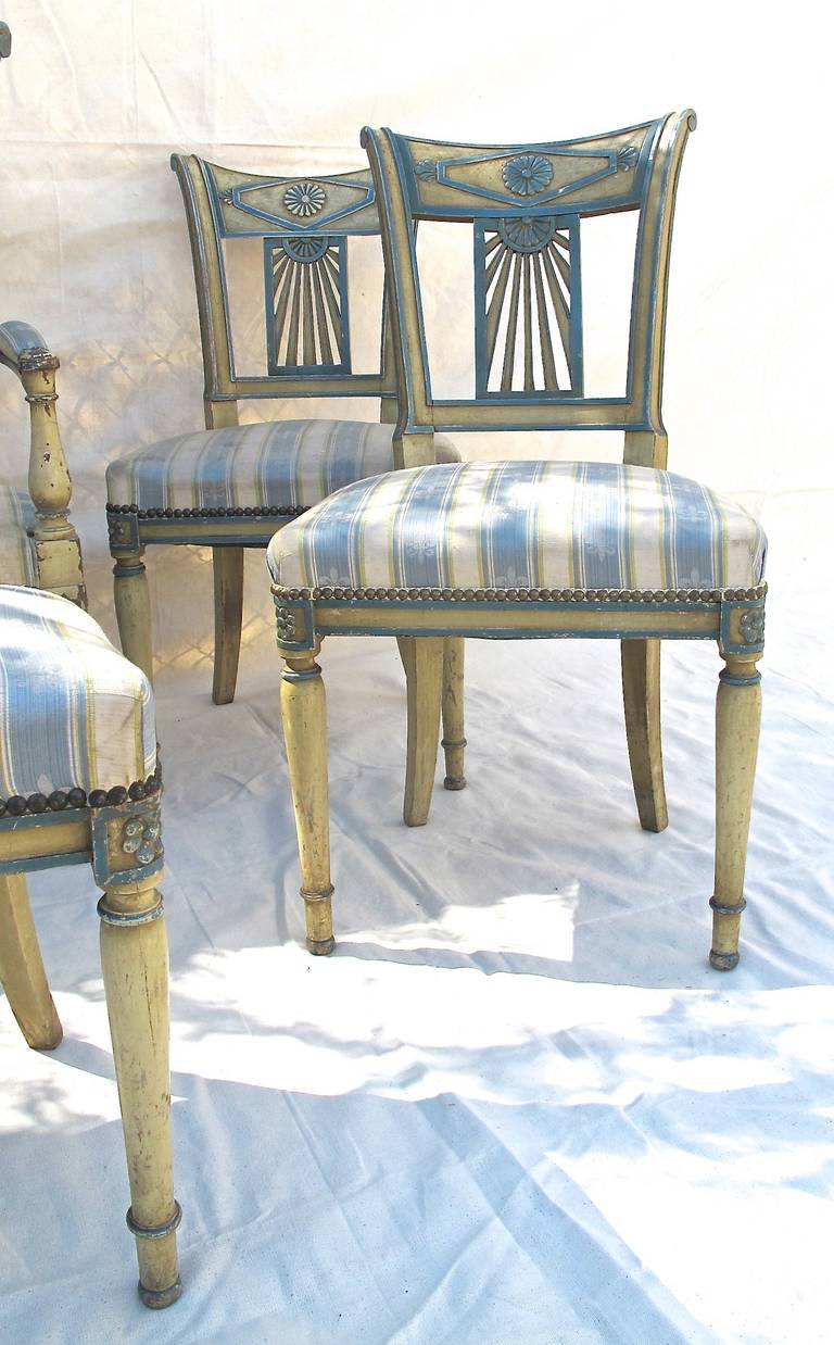 Fantastic 19Th Century Dining Chairs 19Th Century Set Of 6 Spanish Pabps2019 Chair Design Images Pabps2019Com