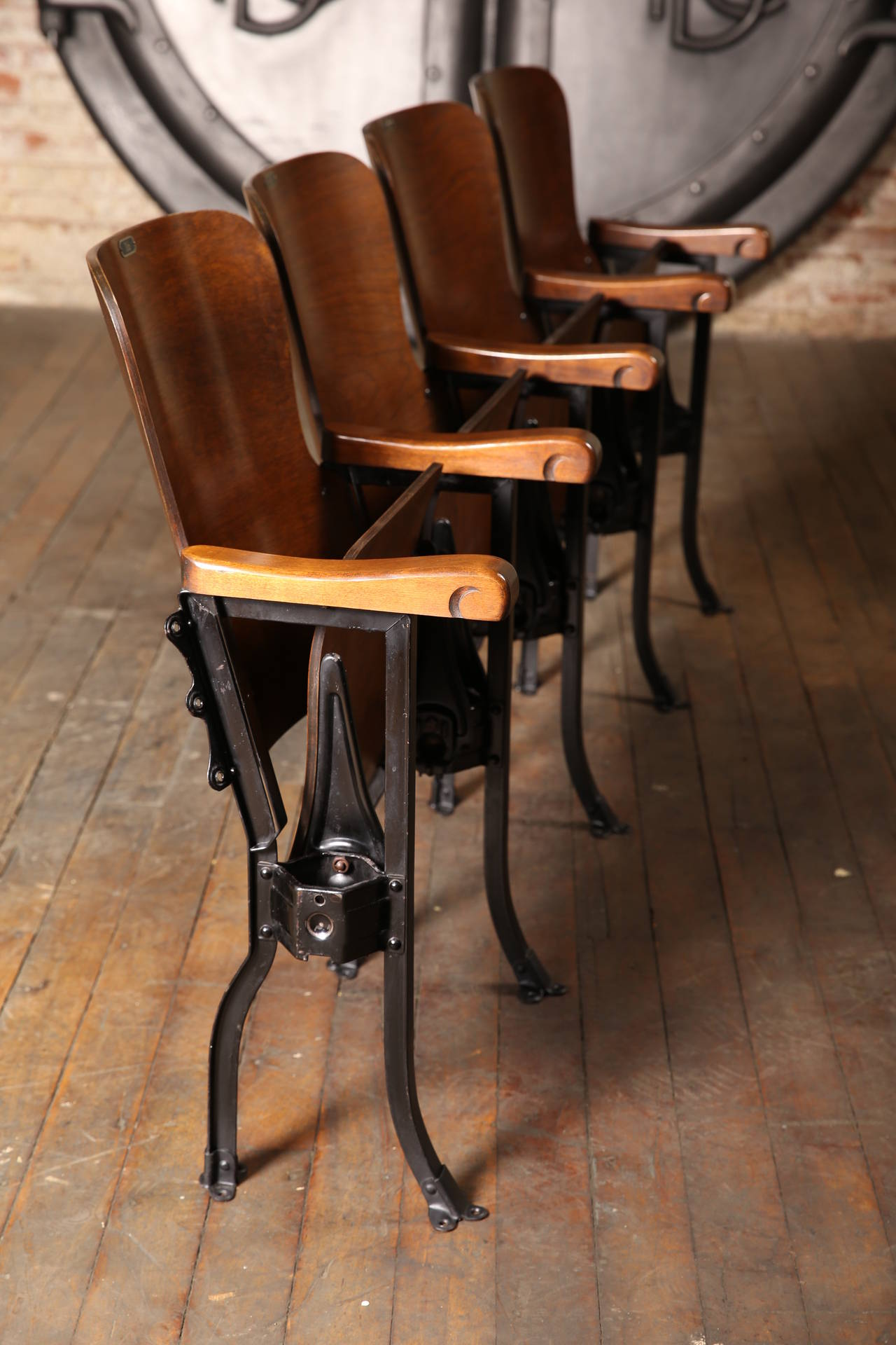 Vintage Theater Seats At 1stdibs