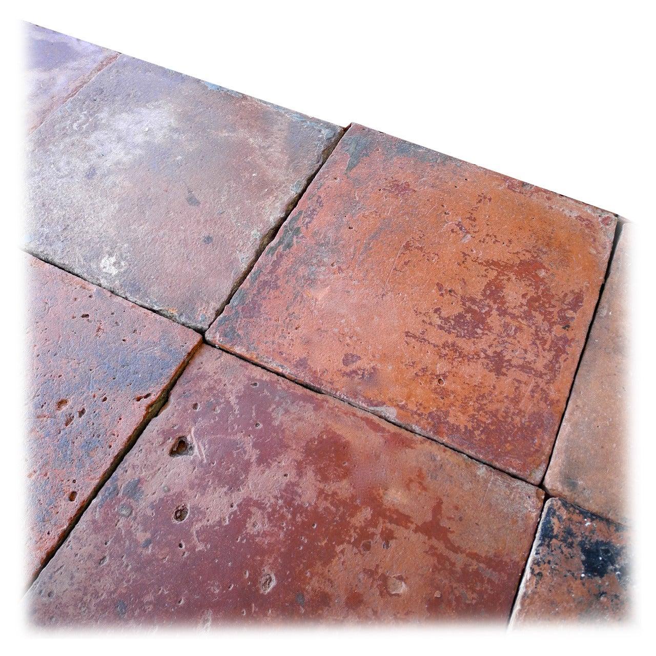 reclaimed spanish terracotta tiles at