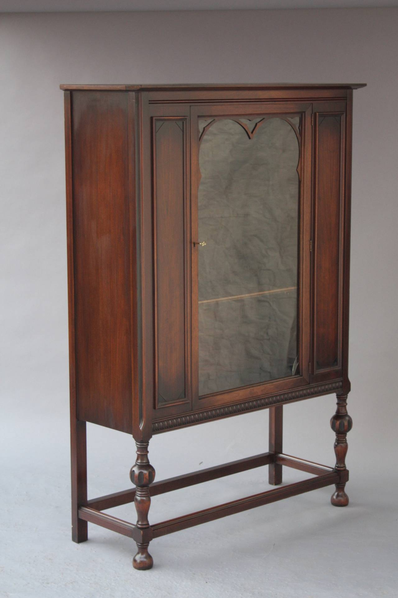 1920s Bookcase Cabinet For Sale At 1stdibs