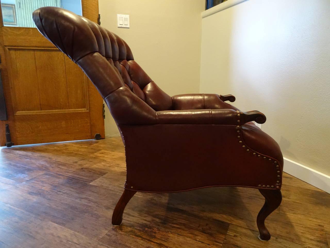 Rip Van Lee Chair And Ottoman At 1stdibs