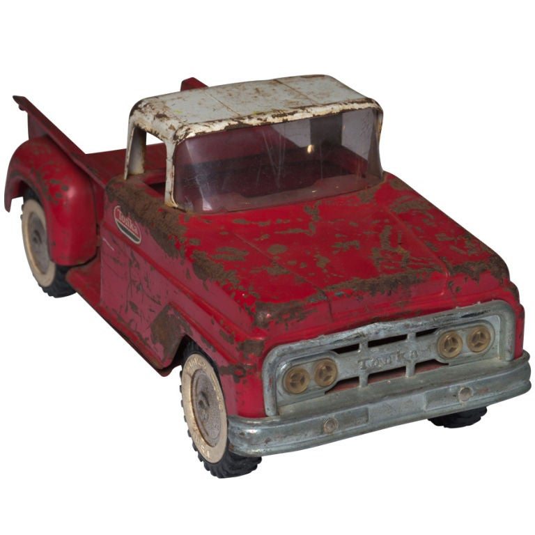 Early Pressed Steel Tonka Pick Up Truck At 1stdibs