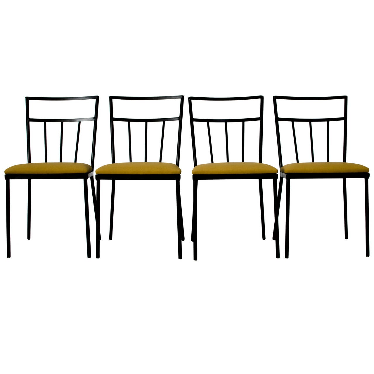 Muriel Coleman Iron Dining Chairs S California At