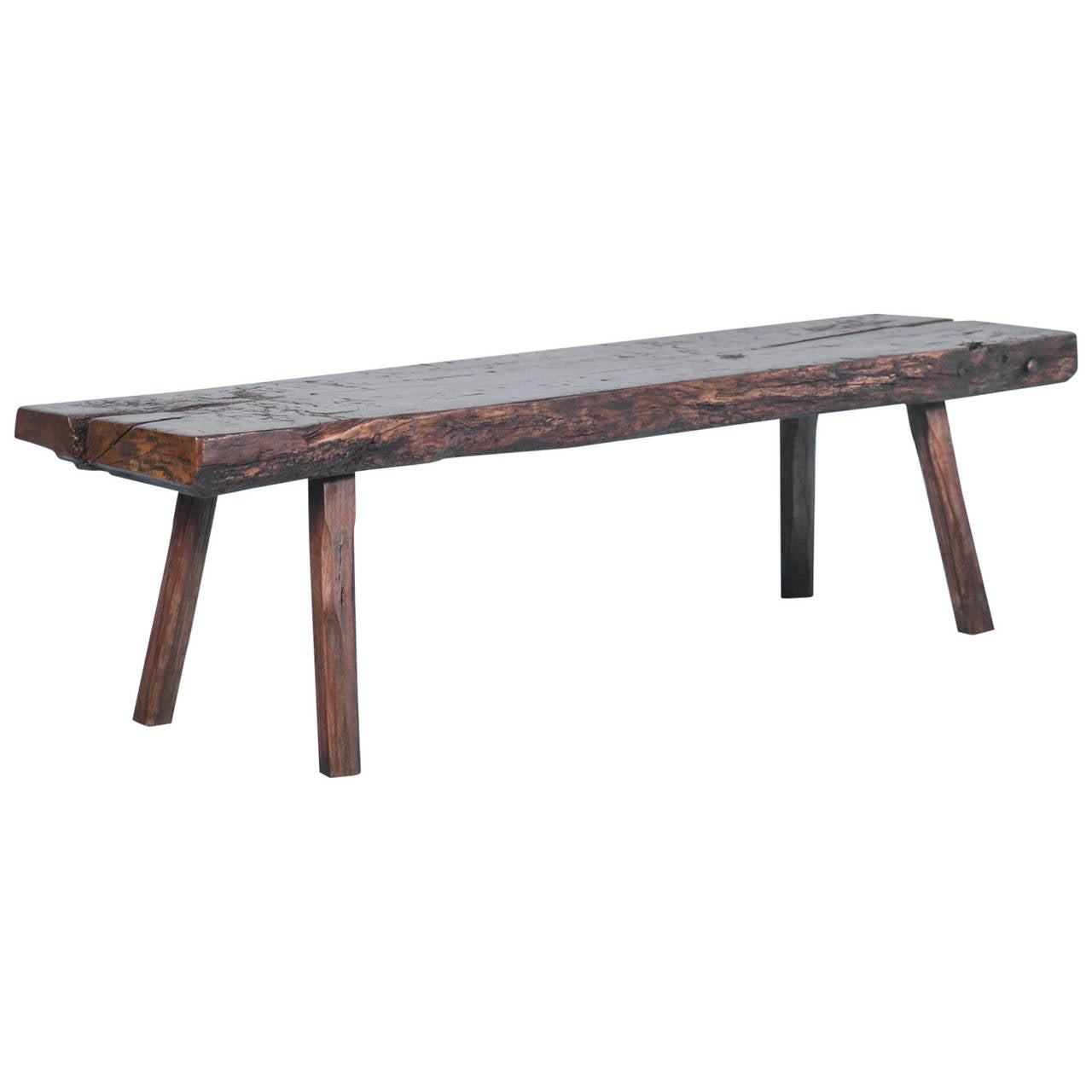 Rustic Antique Narrow Coffee Table Circa 1820 1830 At 1stdibs