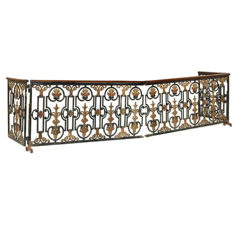 Antique Wrought Iron Railing At 1stdibs