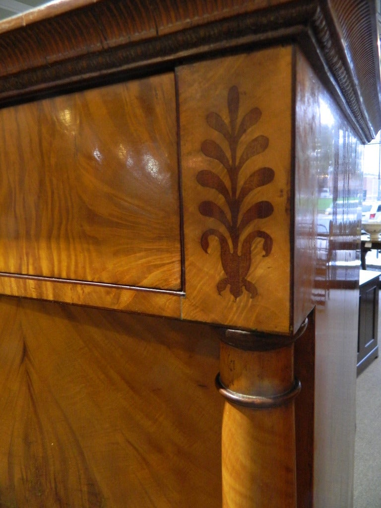 Pair Of Biedermeier Cabinets Austrian At 1stdibs