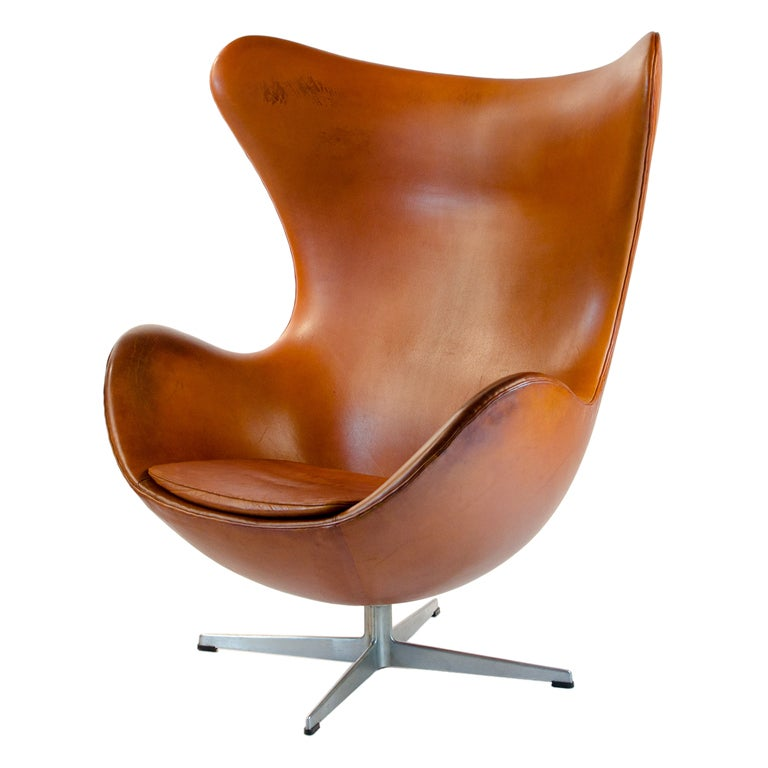 Very Old Egg Chair Original Condition Arne Jacobsen