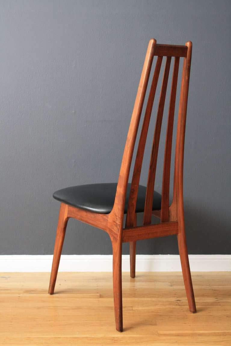 Vintage Dining Table With Six Dining Chairs By Adrian