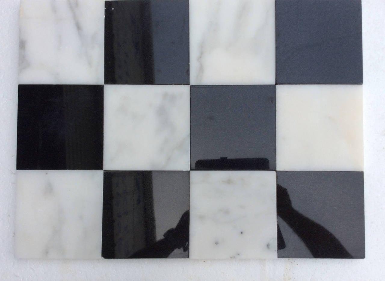 Black Tiles Kitchen Floor