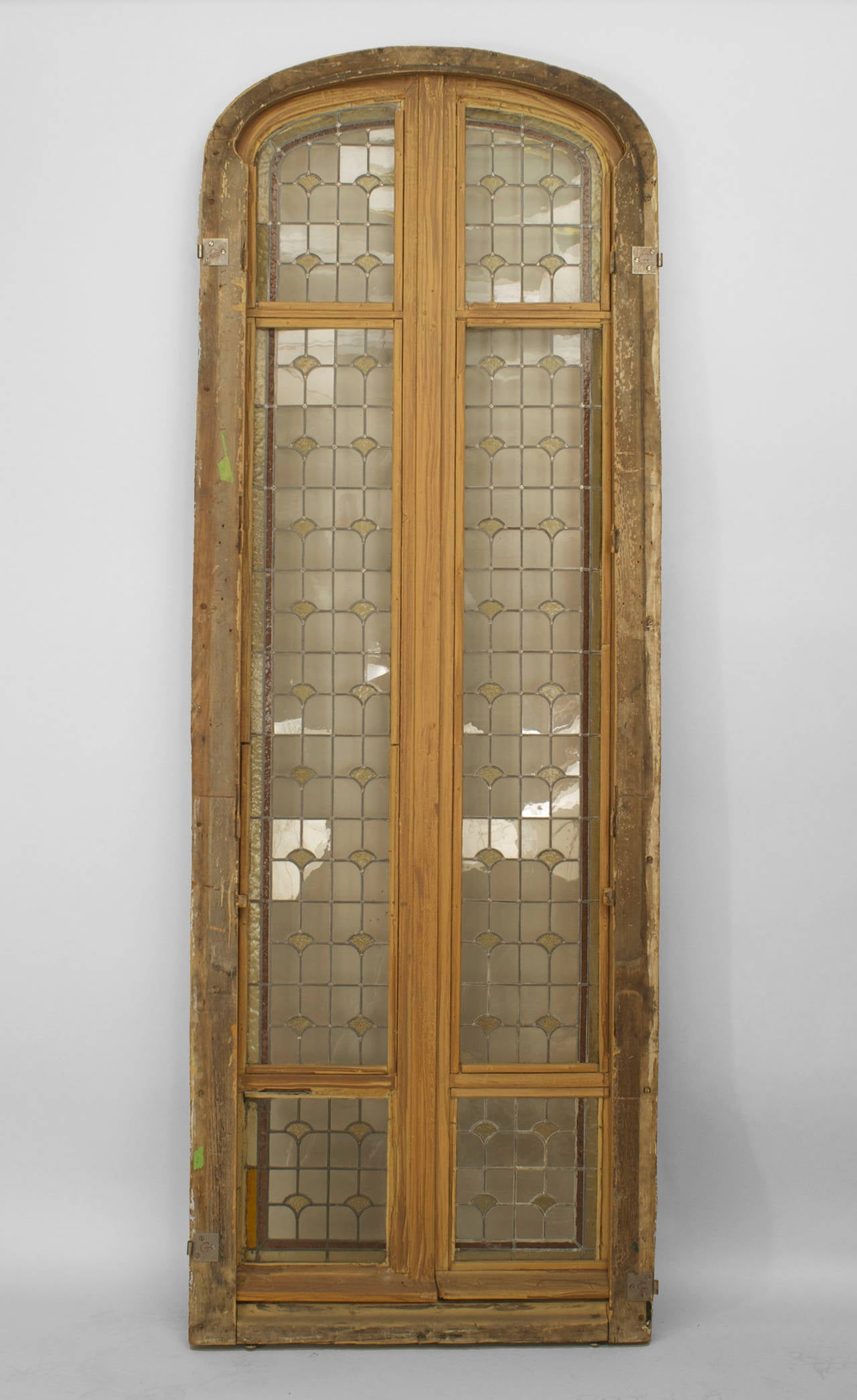 Three 19th C French Stained Glass Doors For Sale At 1stdibs