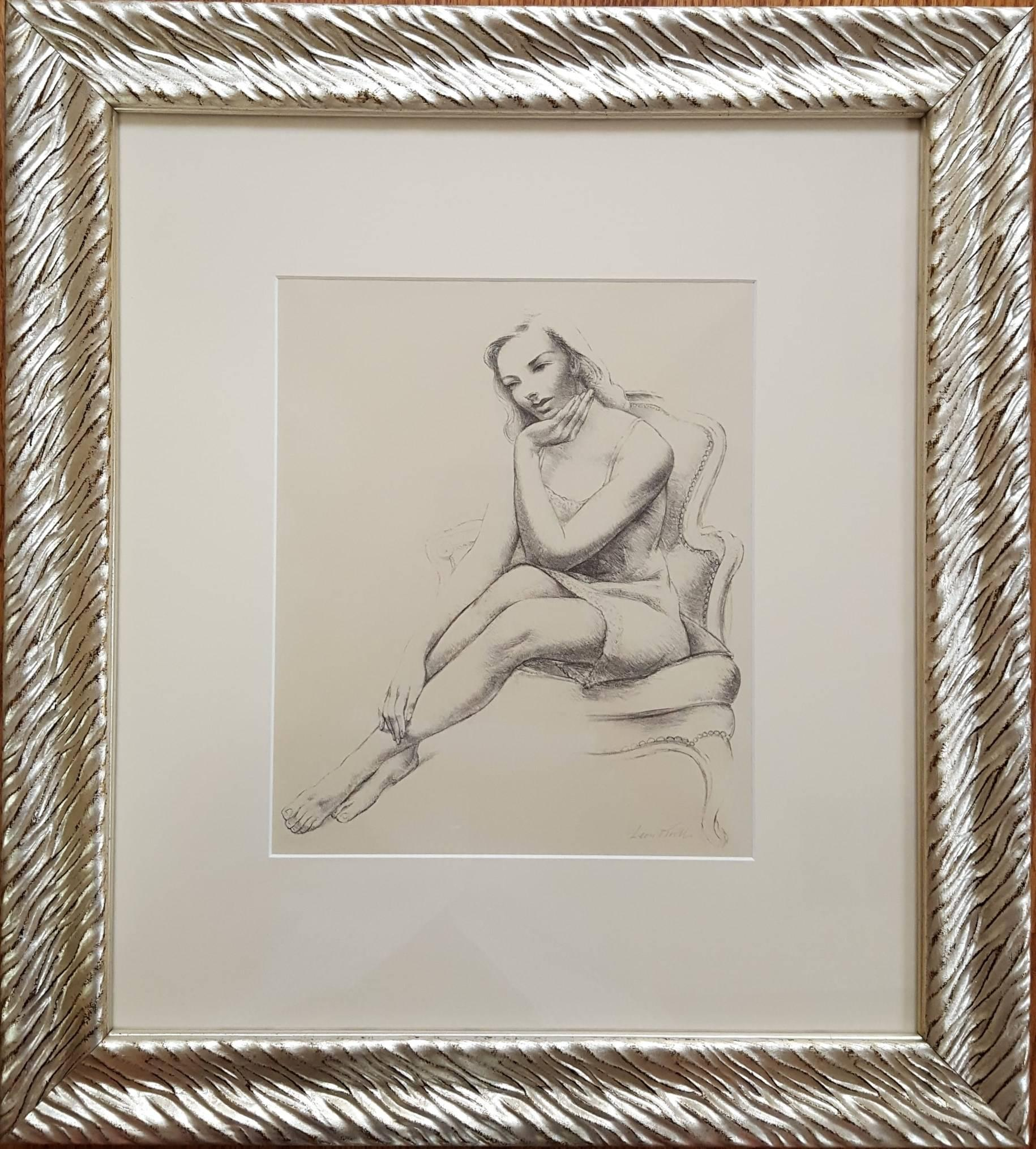 Leon Kroll Monique Print For Sale At 1stdibs