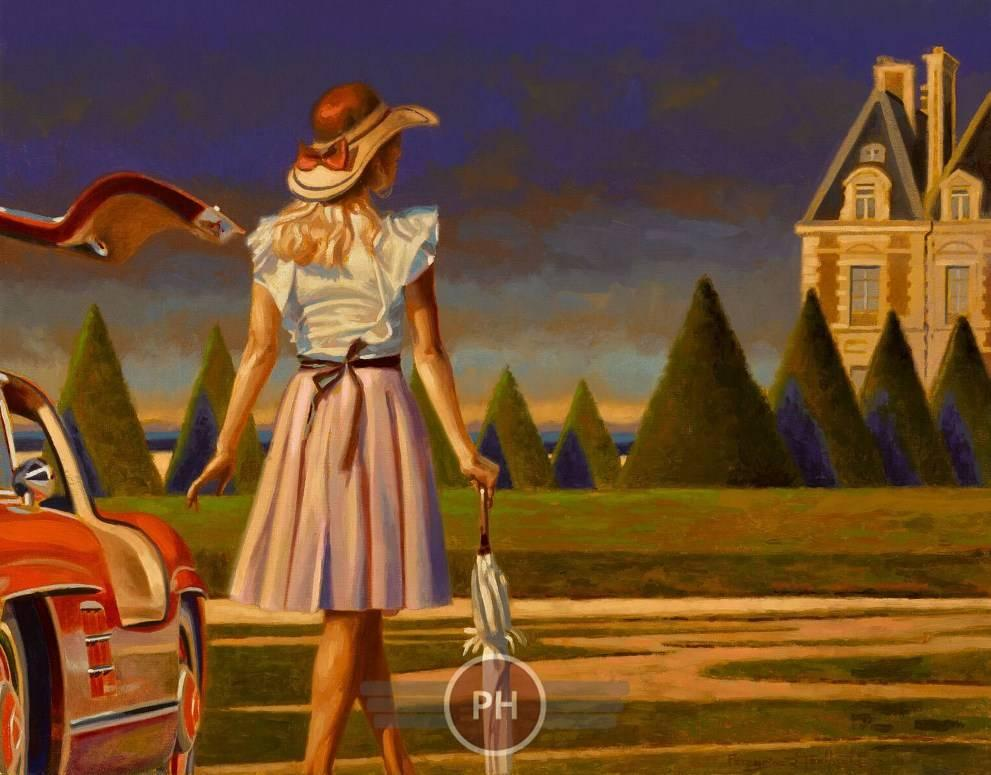 Peregrine Heathcote Pathway Painting For Sale At 1stdibs