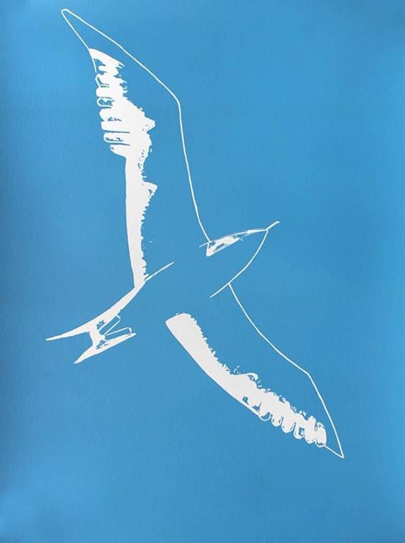 Alex Katz Seagull Print At 1stdibs