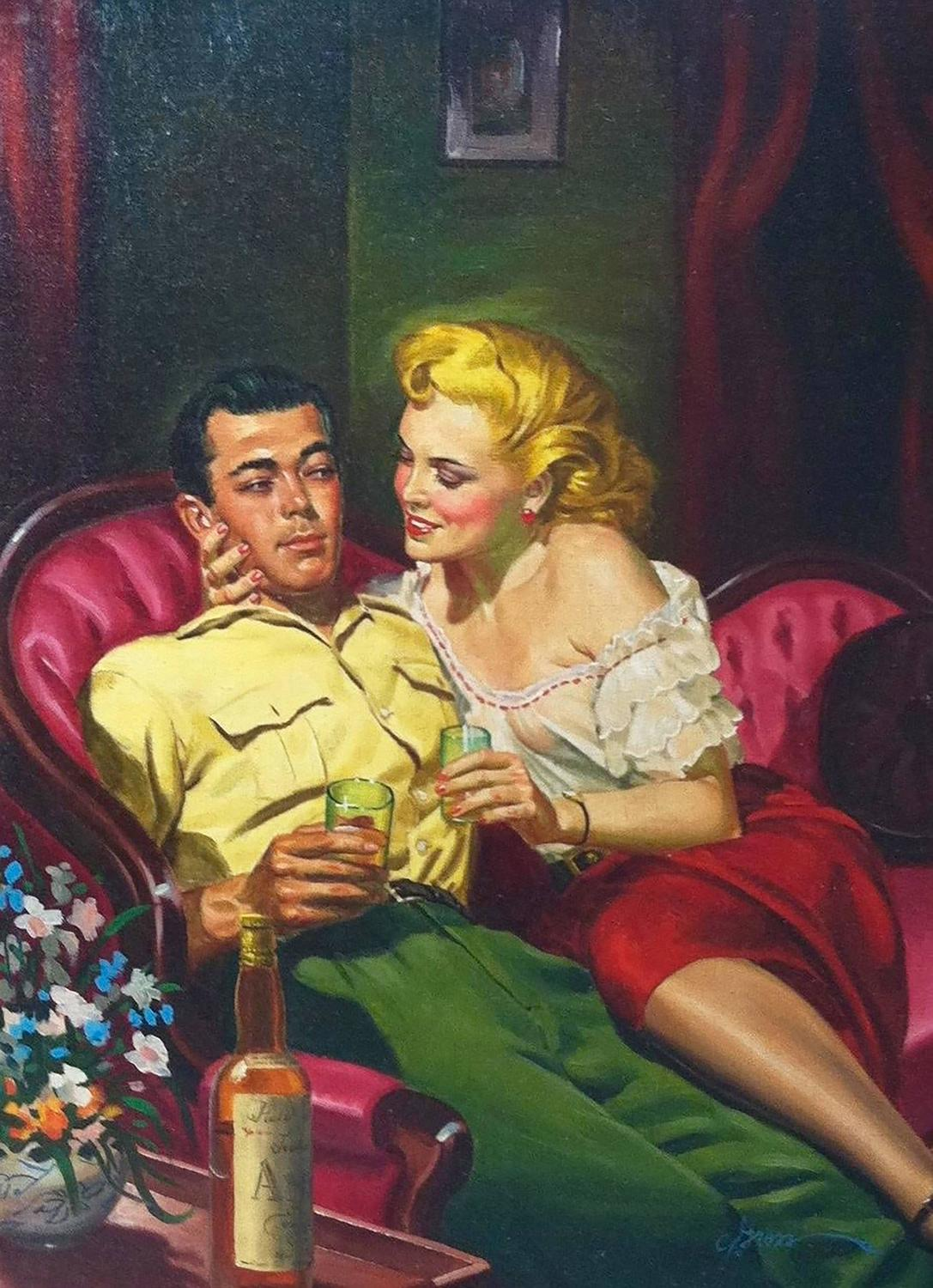 George Gross Lover Boy Paperback Cover For Sale At 1stdibs