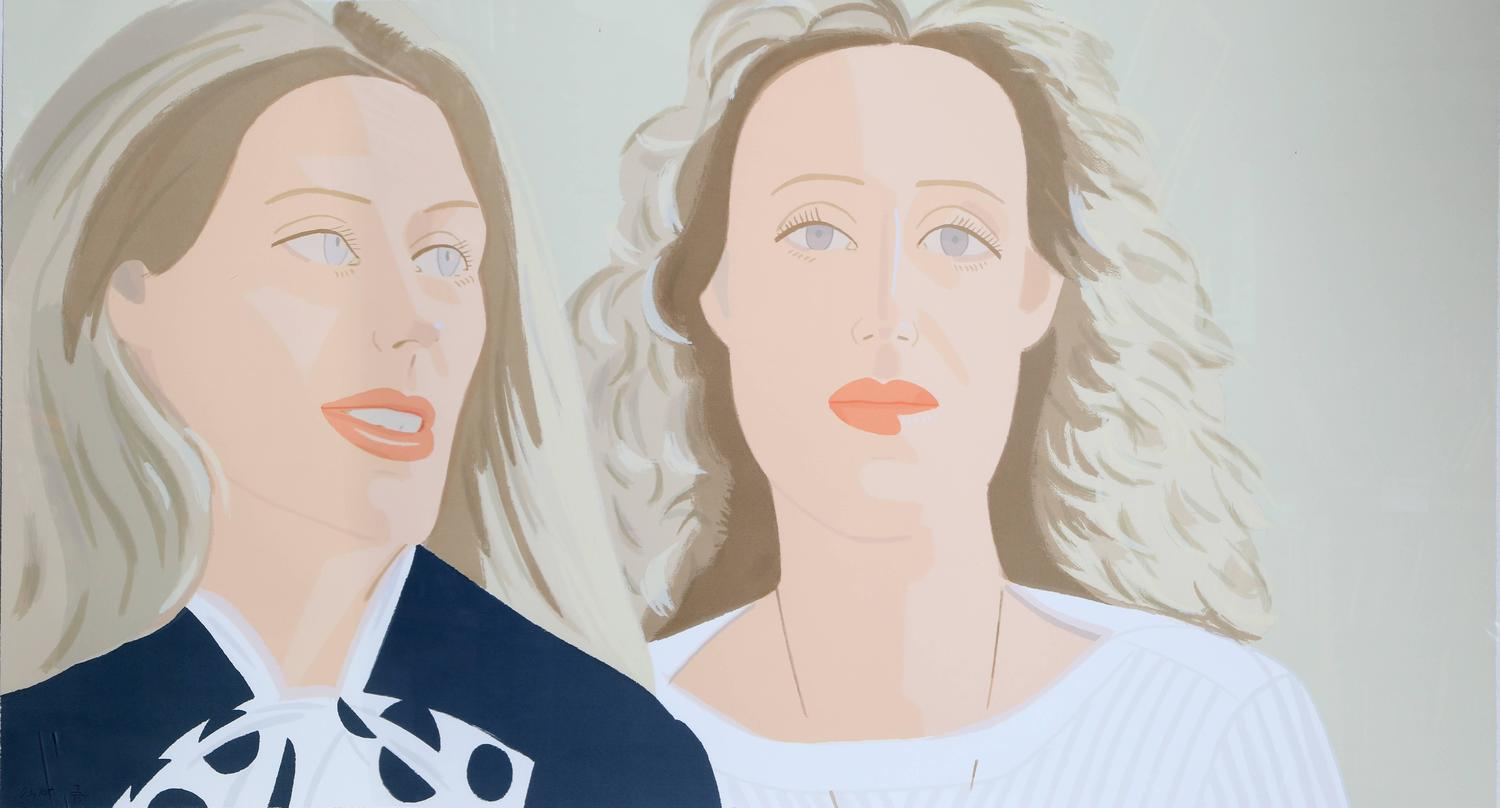 Alex Katz Julia And Alexandra For Sale At 1stdibs