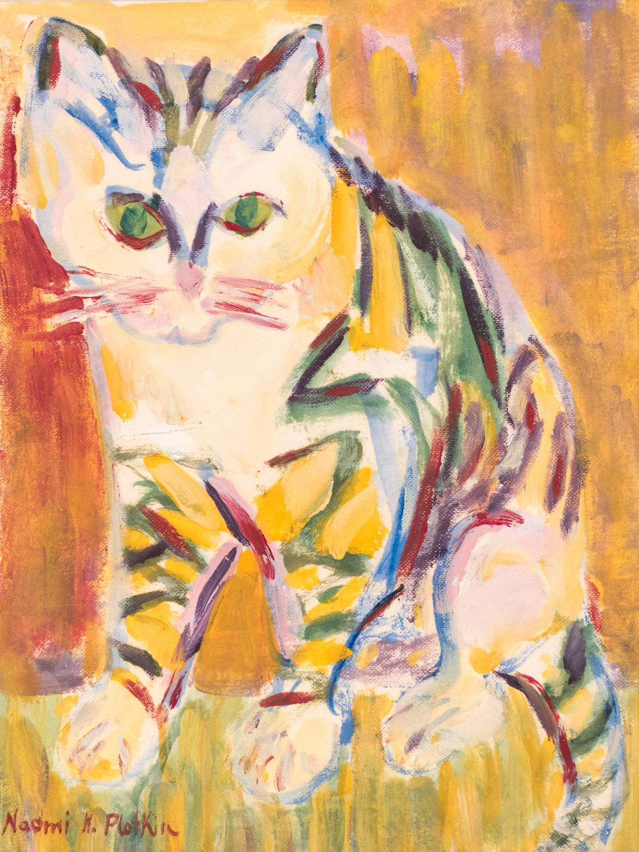 Naomi Katz Plotkin Modernist Cat For Sale At 1stdibs