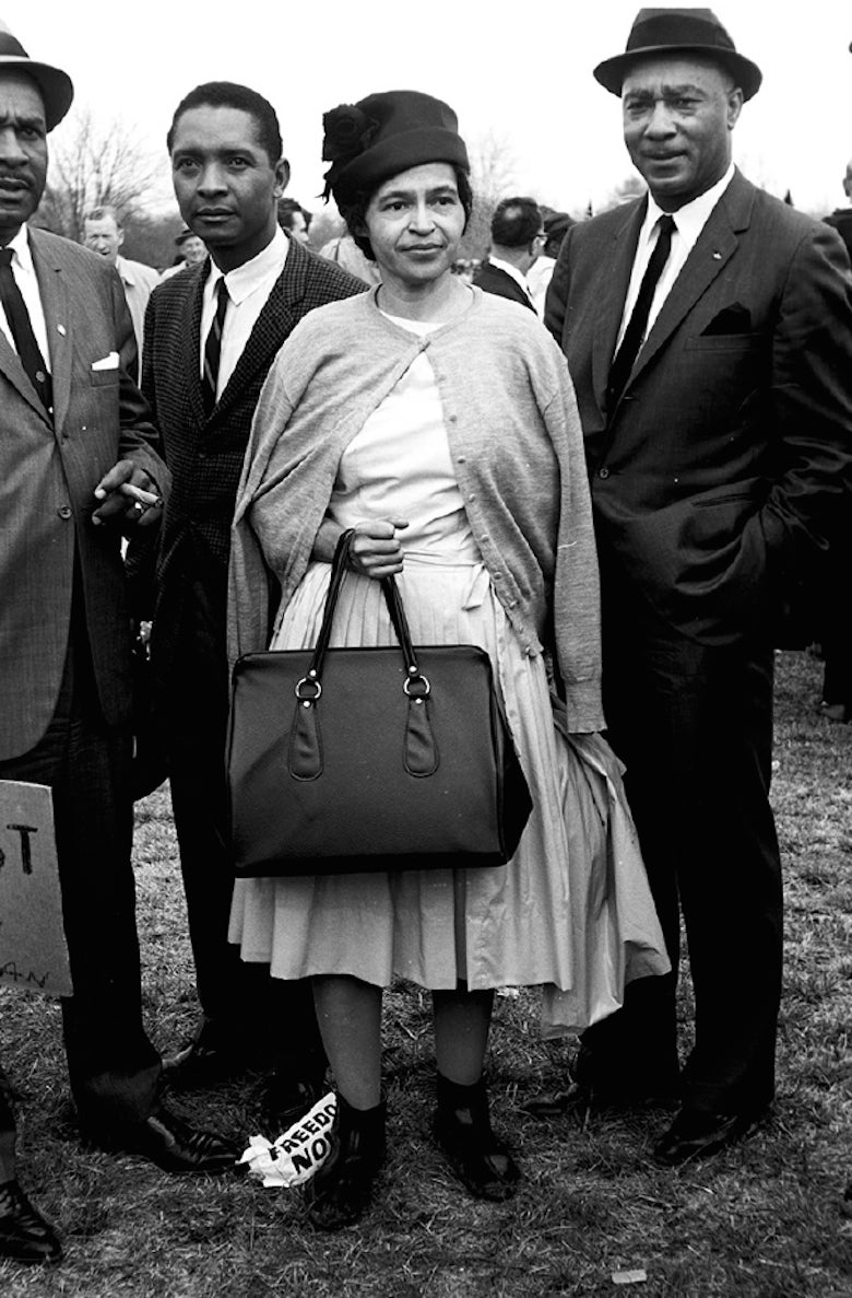 Steve Schapiro Rosa Parks Selma March Photograph At
