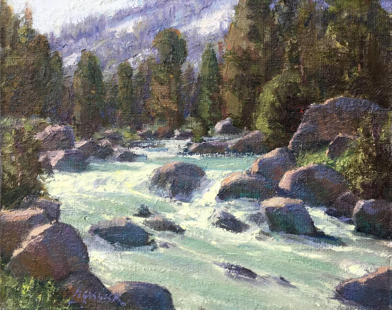 Jean LeGassick A Day In Faith Valley Painting For Sale