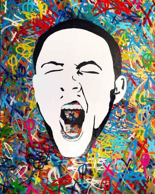 Eric Mancini Mac Miller Painting At 1stdibs