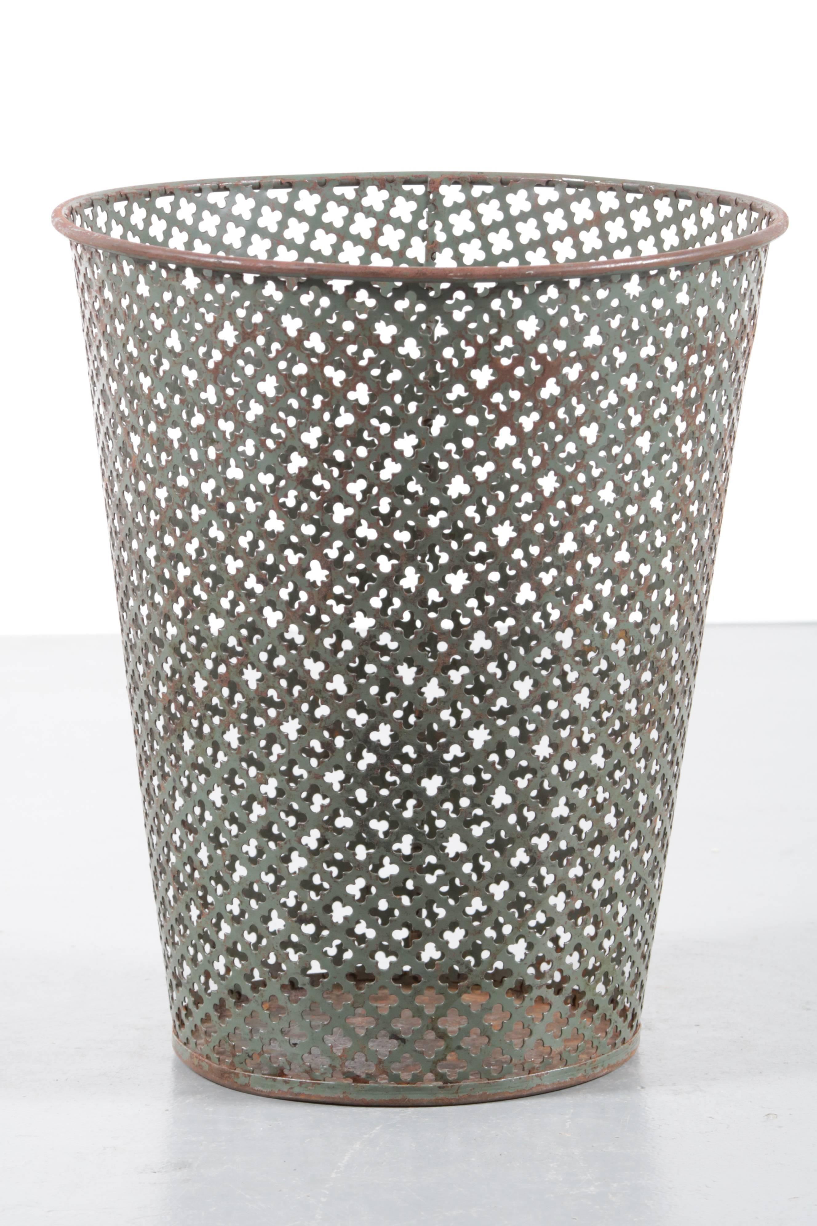 Trash Bin By Mathieu Matgot Manufactured By Ateliers
