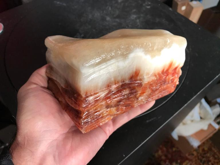 Fantastic Chinese Natural Meat Stone Scholar Rock Viewing