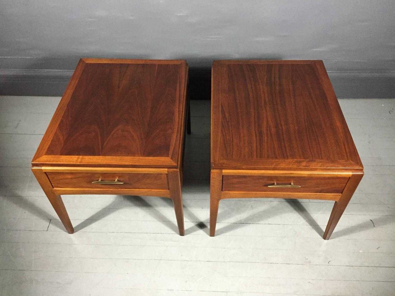 Pair Lane Rhythm Series Side Tables Alta Vista Va Usa