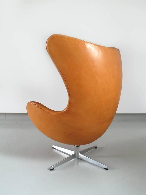 Egg Chair Cognac.Egg Chair Fritz Hansen Egg Chair Arne Jacobsen Fritz Hansen Arne