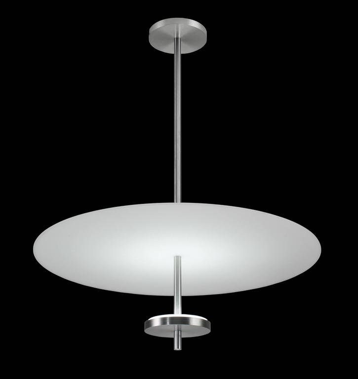 Brushed Aluminum Pendant Light
