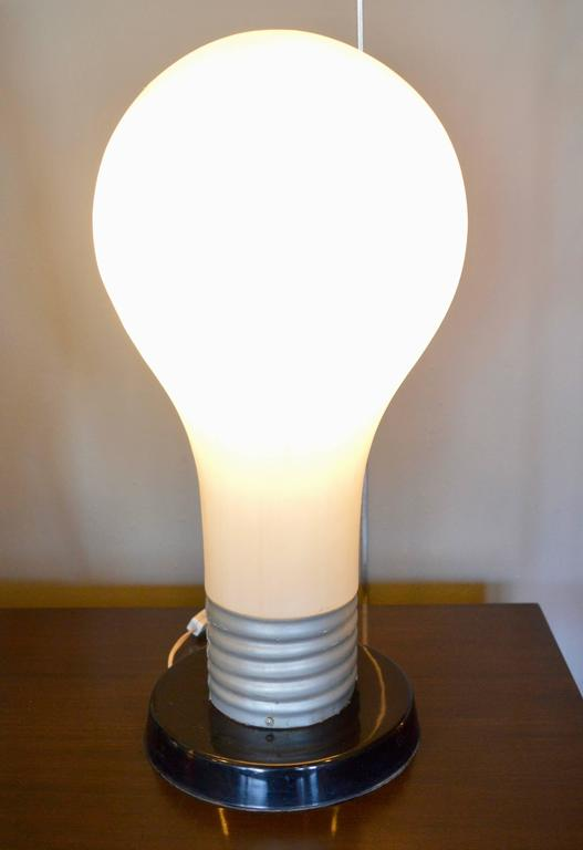 Lamp Light Bulb Table Large
