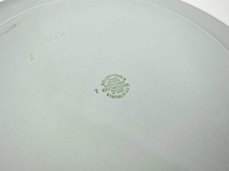 Vintage Pewter Charger Plates