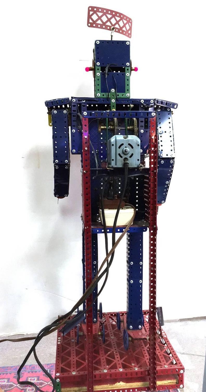 Meccano Robot Store Display Robot At 1stdibs