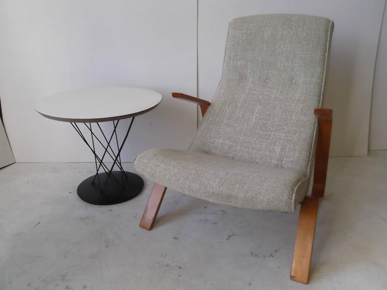 Original Eero Saarinen 1950 Knoll Bentwood Grasshopper