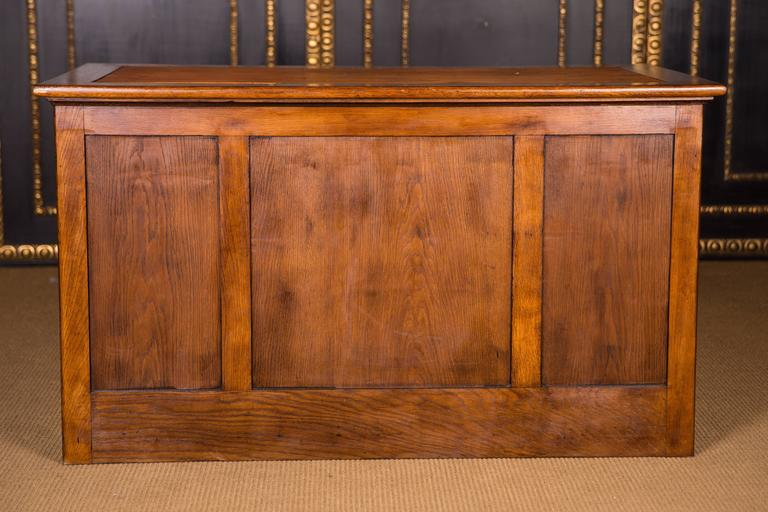 Original Antique Desk In Colonial Style Circa 1900 For