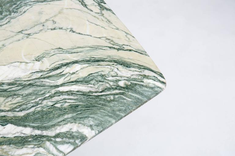Verde Luana Marble Top And Base Dining Table At 1stdibs
