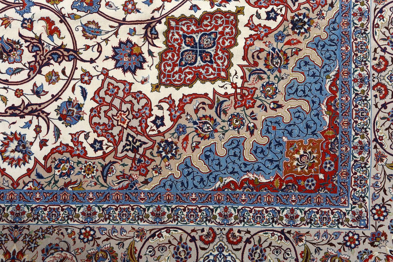 Fine Vintage Isfahan Persian Rug
