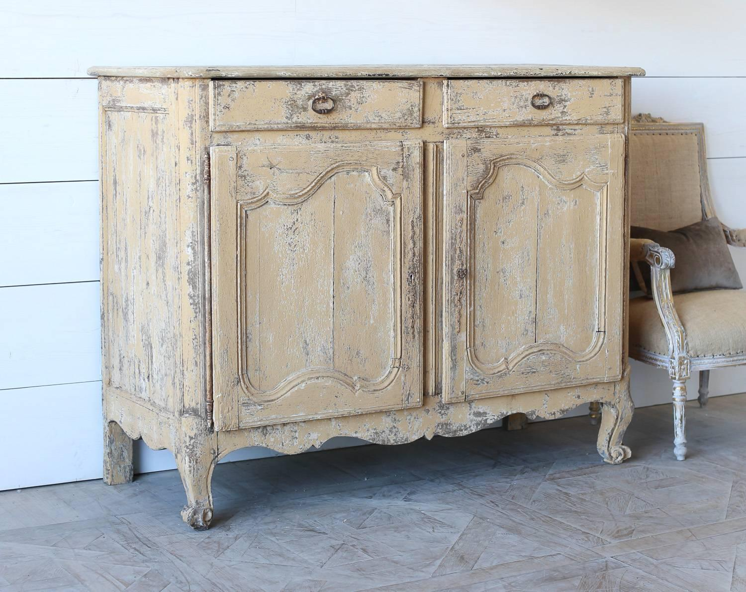 Antique French Oak Sideboard 1800 For Sale At 1stdibs