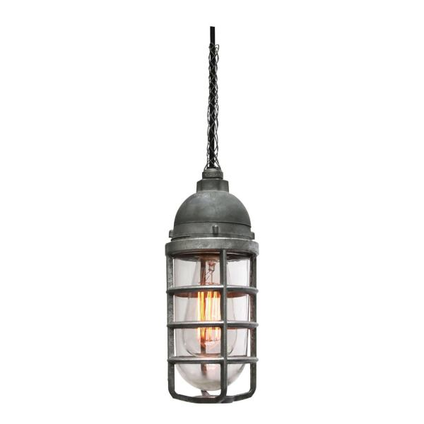 1930 s American Industrial Cage Lights For Sale at 1stdibs Gray Vintage Industrial American Industrial Cage Lights  4x