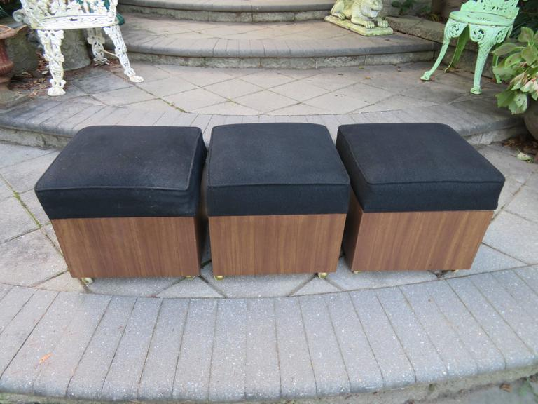 Ottoman Cube Storage Rolling