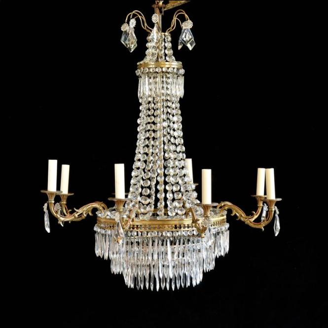 French Glass Chandeliers 2
