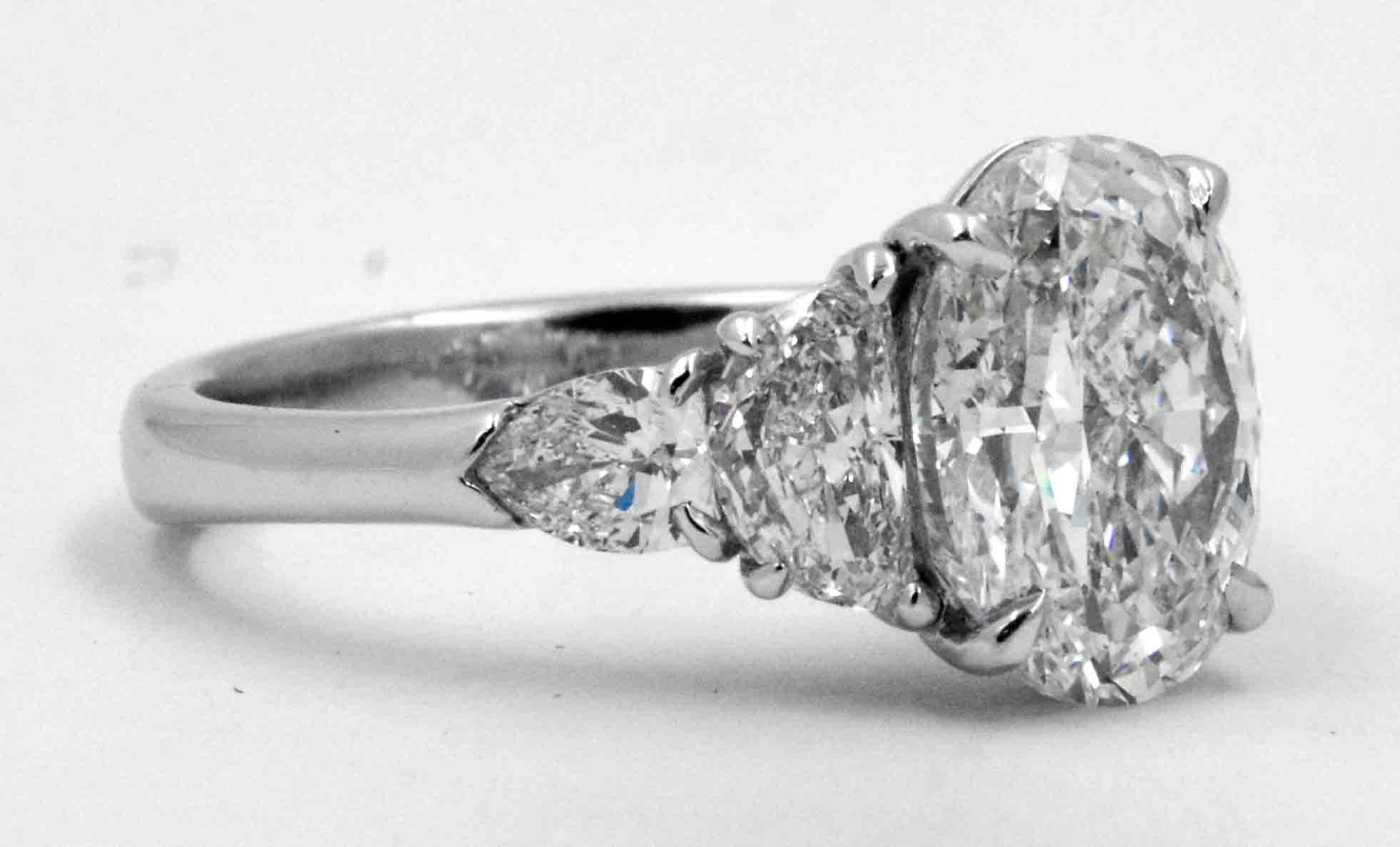 JB Star Diamond Engagement Ring At 1stdibs