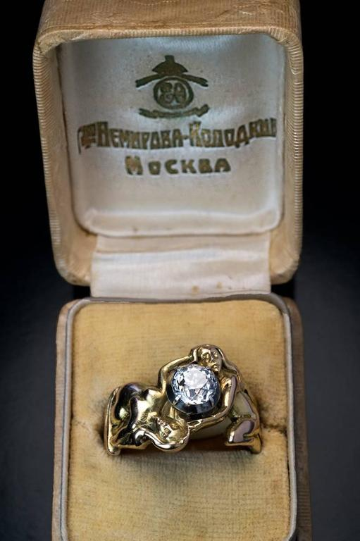 Antique Rings Collection Alexandra