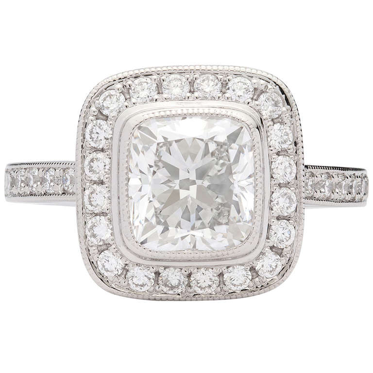 1 02 Cushion Cut Diamond
