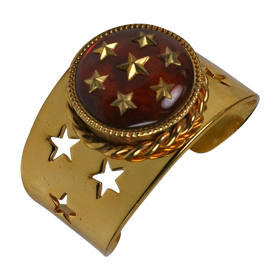 Star Studded French Compact Bracelet For Sale At 1stdibs