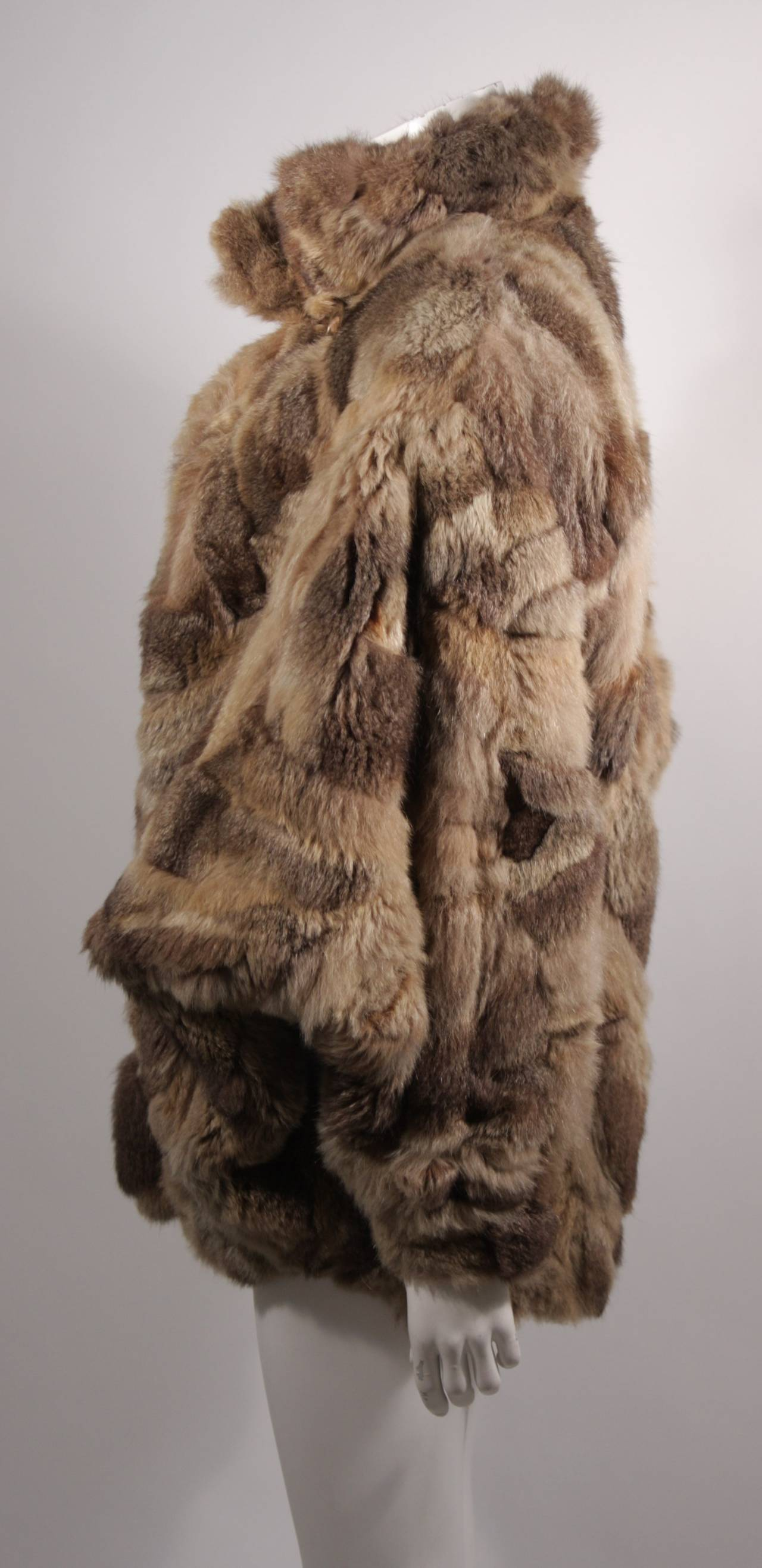 Fendi 365 Russian Squirrel Batwing Style Fur Coat At 1stdibs